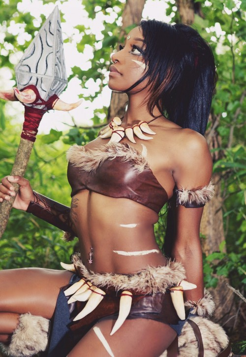 Nidalee cosplay by Kay Thomas