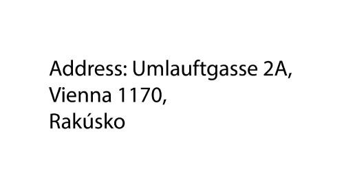 Umlauftgasse 2A, Vienna